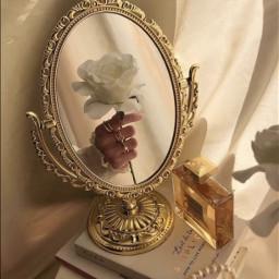 angel cute classic aesthetic flower whiteaesthetic mirror perfume
