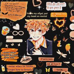 hinatashoyo hinata shoyo haikyuu haikyuuedits orange cutie anime freetoedit