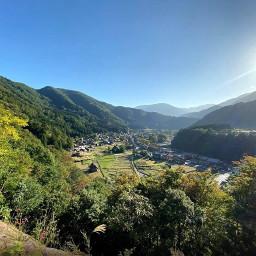 freetoedit japan mountainforest forestmountain shirakawago shirakawagovillage mountainview gifumountains remotevillage culturalvillage worldheritagesite