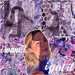 annieleblanc pink purple blue teal turquoise flowers shapeedit shapemask overlay superimpose