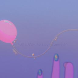 balloon hand gradient reachingout drawing digitaldrawing drawingonsmartphone