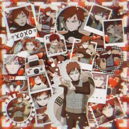 anime manga otaku japan weeb naruto shippuden narutoshippuden sasuke sakura kakashi gaara kazekage red aesthetic temari freetoedit