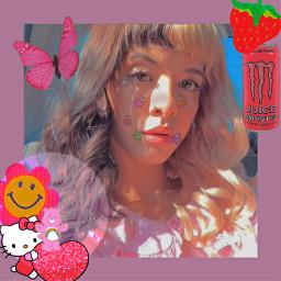 indie girl melanie martinez indiegirl y2k hello kitty monster among us aesthetic cute hellokitty pink red amongus kidcore freetoedit