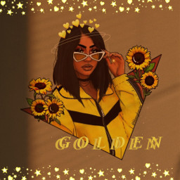 freetoedit remixit followplz love prettygirl teen sexygirl sunflowers crown goldenhour baddie queen glowing outline cutepfpf coolgirl sunglasses sparkle lovely vsco cute vogue glossy girlart aesthetic