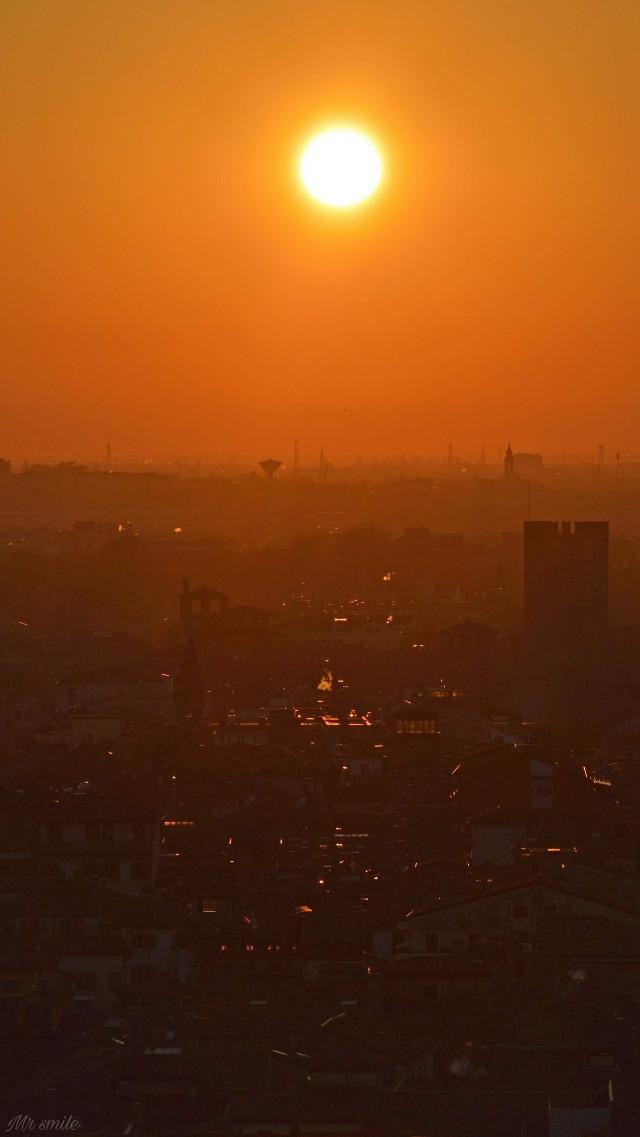 #photography #sunset #orange #landscape