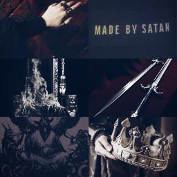 characteraesthetic villain king killer satanic