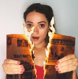 fogo jornal criative fotografiacriativa freetoedit