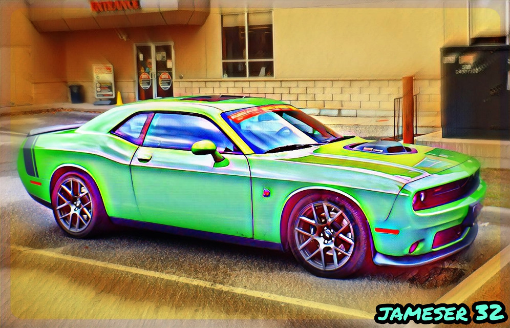 #photography #colorful #car #vehicle  #Hot-Wheels #ride #green #cool