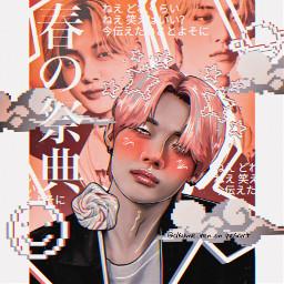 kpop aesthetic yeonjun txt bts manip manipulation polarr