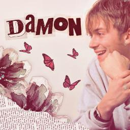 damonalbarn damon blur blurband britpop 90 90s paper aesthetic gorillaz freetoedit