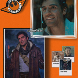 freetoedit poe poedameron poestarwars orange