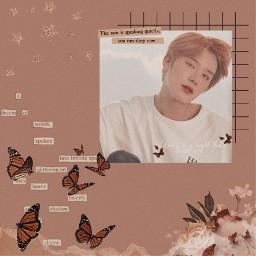 freetoedit replay kpop nct nct127 nctjungwoo jungwoo butterfly flower aesthetic stars kpopedit