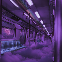 train subway clouds sky heaven moon glitter shine awesome fantasy fantastic creative inspiration background madewithpicsart picsartpicks papicks pickme sweet nice beatiful imagination freetoedit
