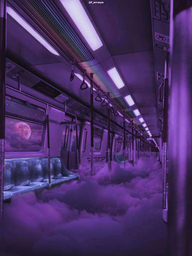 •𝑪𝒂𝒏 𝒚𝒐𝒖 𝒊𝒎𝒂𝒈𝒊𝒏𝒆 𝒕𝒓𝒂𝒗𝒆𝒍𝒊𝒏𝒈 𝒍𝒊𝒌𝒆 𝒕𝒉𝒊𝒔? 𝒂𝒍𝒍 𝑰'𝒎 𝒂𝒔𝒌𝒊𝒏𝒈 𝒇𝒐𝒓 𝒊𝒔 𝒂 𝒕𝒊𝒄𝒌𝒆𝒕 𝒇𝒐𝒓 𝒕𝒉𝒊𝒔 𝒕𝒓𝒂𝒊𝒏•☁️💜✨🌔 #train #subway #clouds #sky #heaven #moon #glitter #shine #awesome #fantasy #fantastic #creative #inspiration #background #madewithpicsart #picsartpicks #papicks #pickme #sweet #nice #beatiful #imagination @PA