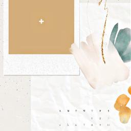 freetoedit aesthetic aestheticwallpaper aestheticbackground background brownbackground brown calender2020 calendar2020october remixit