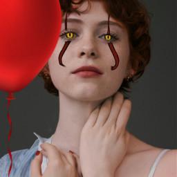 beverlymarsh balloon itmovie beverlywise freetoedit