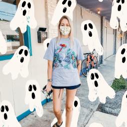 spooky ghost fall freetoedit