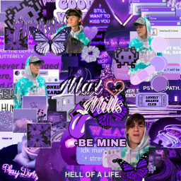 maxi maxmills millsies mills max maxandharvey purpleaesthetic purple maxandharveymills millsedit freetoedit