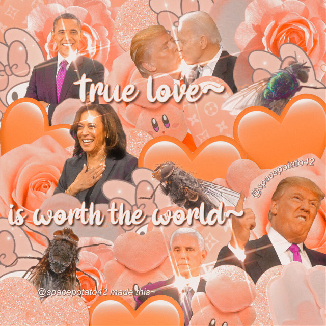 𝑯𝒆𝒍𝒍𝒐༄  ♪~♬~♩~♫  ❏𝑬𝒅𝒊𝒕 𝒕𝒚𝒑𝒆: Minimal ❏𝑷𝒆𝒓𝒔𝒐𝒏: Obama x Kamala x Trump x Mikey x Fly x Biden ❏𝑪𝒐𝒍𝒐𝒓(𝒔): Peach ❏𝑻𝒊𝒎𝒆 𝒕𝒂𝒌𝒆𝒏: 1 hour ❏𝑴𝒐𝒐𝒅: ;)))) ❏𝑻𝒊𝒎𝒆: 11:35pm ❏𝑺𝒖𝒃𝒋𝒆𝒄𝒕 𝒔𝒕𝒊𝒄𝒌𝒆𝒓 𝒄𝒓𝒆𝒅𝒊: Me mostly ❏𝑵𝒐𝒕𝒆𝒔:  I get out of school early this week 😼  ♪~♬~♩~♫  𝑻𝒂𝒈𝒍𝒊𝒔𝒕 ❏ @cloudly- ❏ @rosanyx ❏ @leaderofthebicult ❏ @mentanoiajazzy ❏ @koolaidklenman ❏ @thatgaykid-  𝑪𝒐𝒎𝒎𝒆𝒏𝒕 🎃 𝒕𝒐 𝒃𝒆 𝒂𝒅𝒅𝒆𝒅༄ 𝑪𝒐𝒎𝒎𝒆𝒏𝒕 🍂 𝒕𝒐 𝒃𝒆 𝒓𝒆𝒎𝒐𝒗𝒆𝒅༄ 𝑪𝒐𝒎𝒎𝒆𝒏𝒕 🌾 𝒊𝒇 𝒚𝒐𝒖𝒓 @ 𝒄𝒉𝒂𝒏𝒈𝒆𝒅 𝒂𝒏𝒅 𝒘𝒉𝒂𝒕 𝒊𝒕 𝒖𝒔𝒆𝒅 𝒕𝒐 𝒃𝒆༄  ❏𝑯𝒂𝒔𝒉𝒕𝒂𝒈𝒔:🎉🐬😊 (random emojis lmao) #romance #romantic #love #true #truelove #thepresident #obama #kamala #biden #pence #mike #donald #harris #election #shipedit #trumpxbiden #trumpxpence {#trump2020 #alm #bluelivesmatter #maga #kag #progod #progun #prolife} once again, anythin in {these} are not what I belive, just want the trump cult to find this lmao