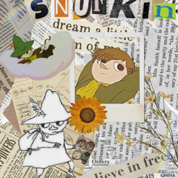 snufkin snufkinedit moomin aesthetic cottagecore moominvalley moominedit edit freetoedit