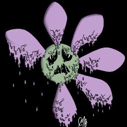 freetoedit flower grunge draw drawing