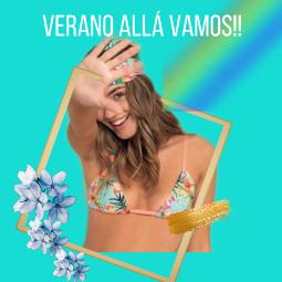 mallas bikinis summer nature beach verano trajesdebaño todala freetoedit