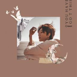 seventeen aesthetic vogue kpop minghao seventeenthe8 carat freetoedit