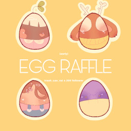 freetoedit eggraffle ocs 200followers thankyou