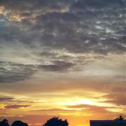 freetoedit sunset myphotography skylover naturephotography