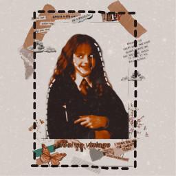 ifeelsovintage hermionegranger cute harrypotter freetoedit vintageaesthetic linestickers