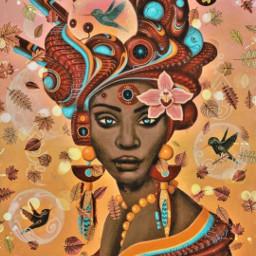hummingbird bubbles indian africanamericanwoman blackwoman fall freetoedit srcautumnleaves autumnleaves