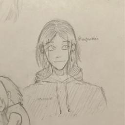 anime drawing doodle art traditionalart animeart sketch haikyuu haikyu kenma kenmakozume kozumekenma nekoma