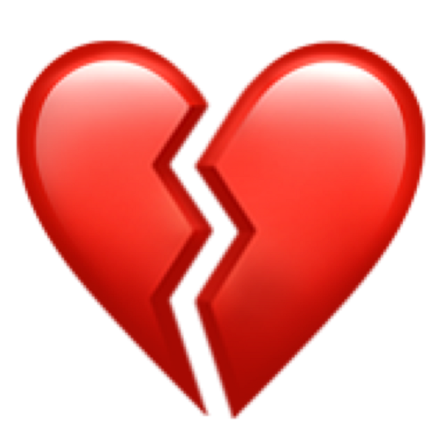 #emoji#break#corazon#corazonroto#error#nosignal#sad#triste#rojo#💔