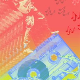 johnmayer cassette digitalart collageart music musicalnote freetoedit