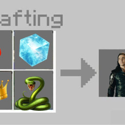 loki crafting snake king lokilove loli lokiofasgard lokilaufeyson infinitystones hot fire freetoedit