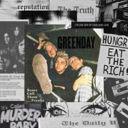 greenday billiejoearmstrong mikedirnt trecool punk aesthetic grunge rock fuckoff fucktrump music 80s 90s freetoedit