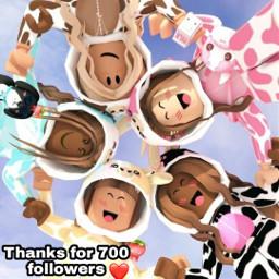 youarebest iloveyou thankyou 700followers ❤️😍 freetoedit