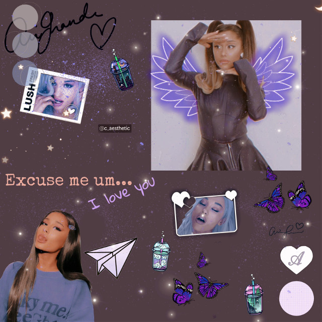 #arianagrande #purpleaesthetic                                         Repost to join taglist                                                             Comment 🍭 to be added to taglist                                    Go follow                                                                                   @jessa_lou7                                                                              @_fangirl_hp_marvel_                                                            @clix_z5