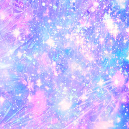 freetoedit glitter sparkle galaxy holographic pastel shimmer ice crystals glass pink blue purple cosmos glow background overlay wallpaper