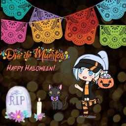 hallowen 2020 desafio votame ayuda diademuertos caricature love scary spooky voted rip cats candy freetoedit ecgachaclubhalloweenparty gachaclubhalloweenparty