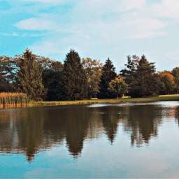 freetoedit water milwaukee lake blue ducks