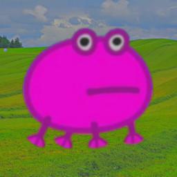 frog peppapig indie hill hills indiekid retro aesthetic 2000s freetoedit