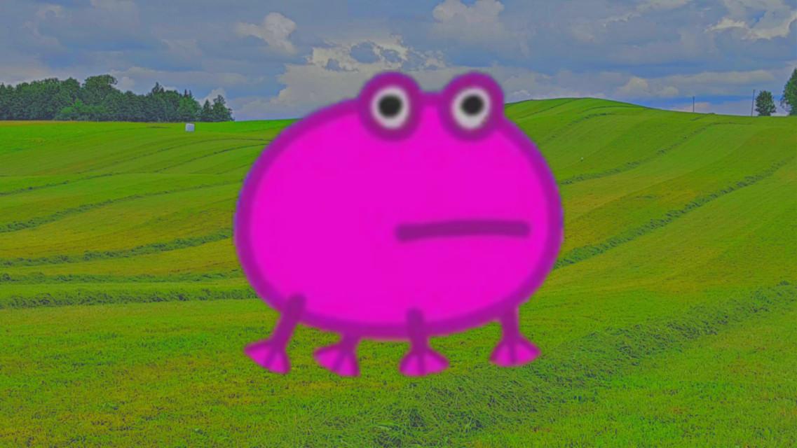#Frog #peppapig #indie #hill #hills #indiekid #retro #aesthetic #2000s
