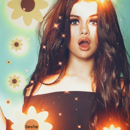 selenagomez replayedit lit flowers photoedit glow expressyourself artistic filters faceart madewithpicsart becreative freetoedit