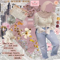 outfit aesthetic vintage vintageaesthetic hijabstyle hijab outfitideas outfitinspo plussize plussizebeauty plussizeclothing plussizefashion vintageclothing freetoedit srcvintageaesthetic