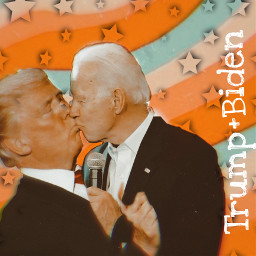 trumpxbiden shipit truelove 2020 politics funny replay freetoedit kisses whatisthis interesting abstractart nevergonnahappen socute people pretty eww loveit