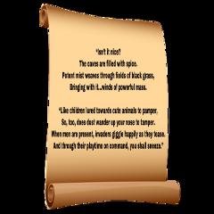 spell parchment enchantment curse limmerick freetoedit