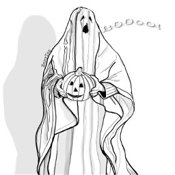 boo ghost happyhalloween trickortreat pumpkin white outline outlineart halloween sketch drawing illustration sketchdrawing drawtool madewithpicsart colorme drawnbyme freetoedit