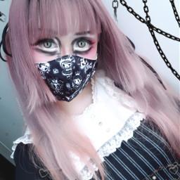gothgirl egirl gothgf gothicfashion gothicstyle creepycute pastelgoth timburton spooky creepygirl