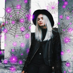 freetoedit witch halloween spooky aesthetic ghost scary boots gothic inspired cute lovely spider spiderweb create purple hocuspocus simple october september grunge halloweenspirit creepy black